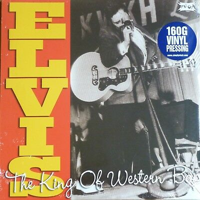 "Rare Elvis Presley - ""King Of The Western Bop"" -  2 Xlp  - New & Sealed"