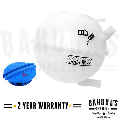 Coolant Header Expansion Tank Bottle And Cap For Vw Golf Mk4 97-06 *New*