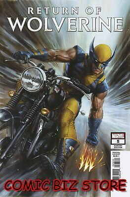 Return Of Wolverine #5 (Of 5) (2019) 1St Print Scarce 1:25 Granov Variant Cover