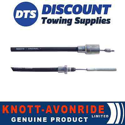 Genuine Knott Detachable Trailer Brake Cable 1530mm - 1740mm - 33921.1.17 x 1