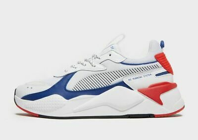 PUMA RS-X Core Toys White-Blue-Red Atoll Trainers UK Sizes New