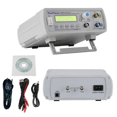 24MHz Dual-Channel Arbitrary Waveform DDS Function Signal Generator Cable UK
