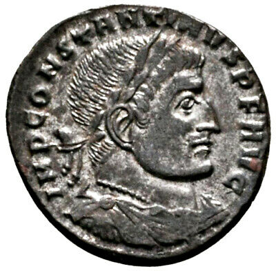 CONSTANTINE THE GREAT (315 AD) BI Follis. Rome #MA 1599