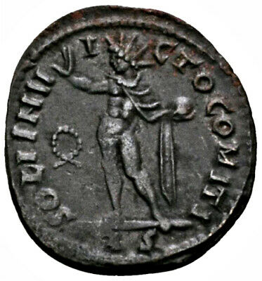 CONSTANTINE THE GREAT (318 AD) Very Rare Follis. Rome #MA 1601