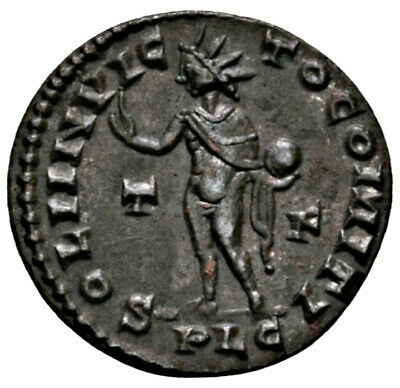 CONSTANTINE THE GREAT (314 AD) AE Follis. Lyons #MA 1602