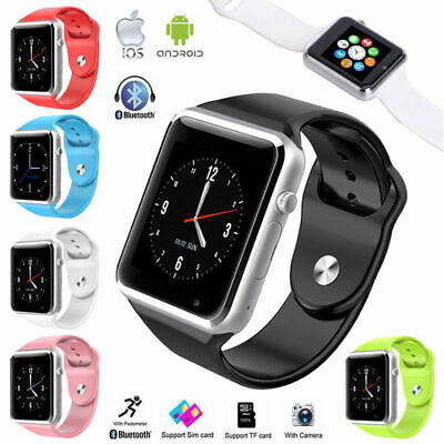 A1 Smart Wrist Watch Bluetooth Waterproof GSM Sim Phone For Android iOS Samsung