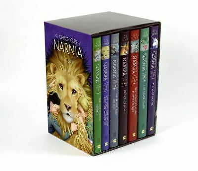 The Chronicles of Narnia Boxed Set 1994 by C. S. Lewis (Hardcover, New)