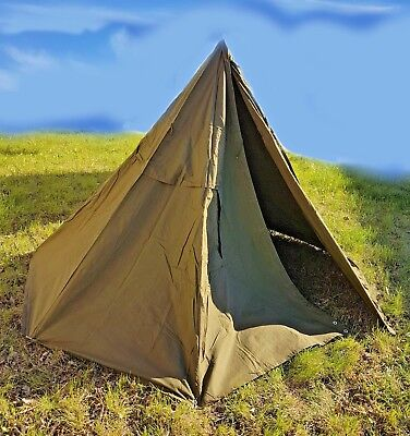 Poncho from the equipment of the Polish army - Size 1, two poncho is one tent