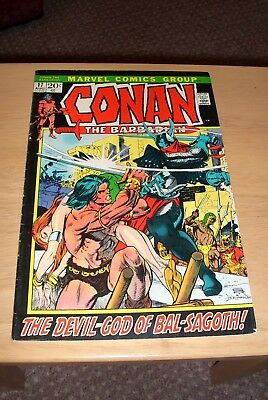 Conan the Barbarian 17 Marvel July 1972 Bronze age VG condition cents issue