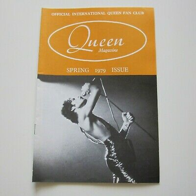 QUEEN : Official Queen Fan Club Magazine Spring 1979 Issue