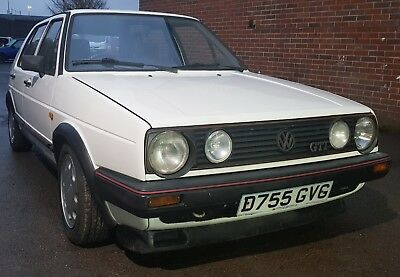 Classic Low Mileage Early Mark 2 Golf GTI in Great Condition only 74K miles