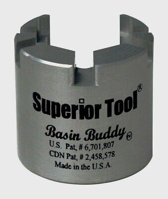 "Superior Tool Basin Buddy Faucet Nut Wrench Universal Toilet 1/2-1/4-3/8"" 03825"