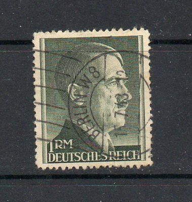 Germany Third Reich 1942 Hitler 1Rm High Value Sg799 Good Used High Cat £10
