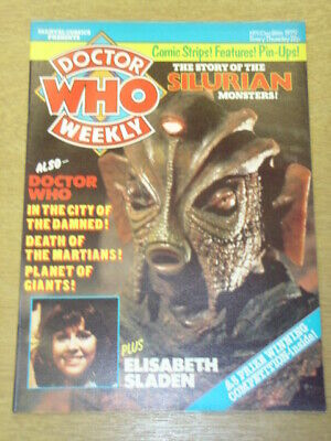 Doctor Who #11 1979 Dec 26 British Weekly Monthly Magazine Dr Who Dalek Cybermen