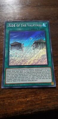 1x (M/NM) Ride of the Valkyries - SHVA-EN006 - Secret Rare - 1st Edition  YuGiOh