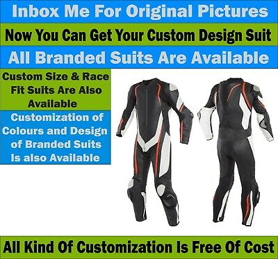 Bikers Motorcycle 1.3mm thick Leather Street Racing 1 & 2 Piece Suit CE Approved