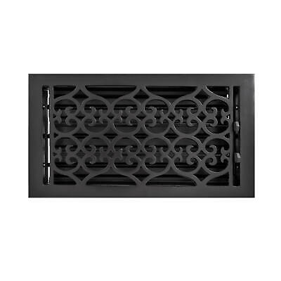 Signature Hardware Old Victorian Cast Iron Wall Register