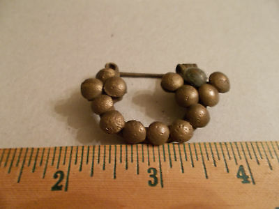 "Antique, Celtic ""Globular"" Brooch"