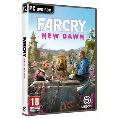 Far Cry New Dawn Pc Dvd Rom Juego Físico Para Pc De Ubisoft