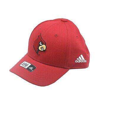 new styles d9d01 4e7ff Louisville Cardinals Official NCAA Adidas Toddler Size Adjustable Hat Cap  New