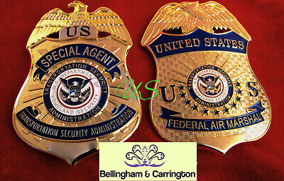 q7/ Historisches badge / US Federal Air Marshal FAMS OR TSA Special Agent / hall