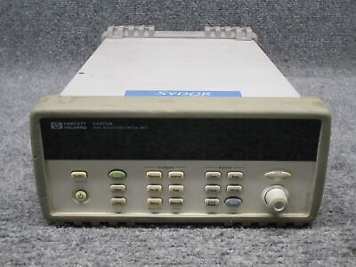 Hewlett Packard Model 34970A Data Acquisition Switch Unit *Tested*