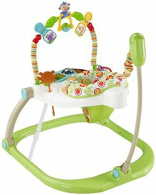 Fisher Price FISHER-PRICE RAINFOREST SPACESAVER JUMPEROO Nouveau