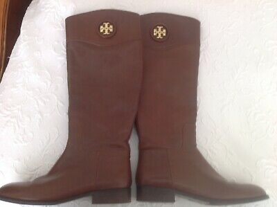 35834edc6188 TORY BURCH JUNCTION BROWN RIDING BOOTS Size 11 -  120.00