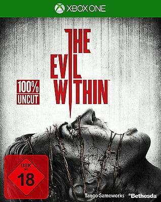 Xbox One Spiel The Evil Within inkl. DLC The Fighting Chance Pack Uncut NEU Org.