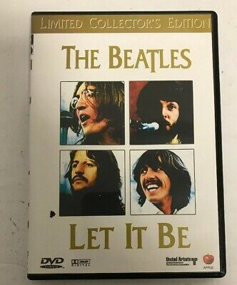 THE BEATLES LET IT BE DVD Limited Collectors Edition 1970 Apple Film