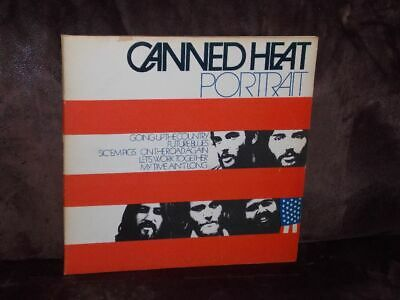 2-LP-Set: CANNED HEAT - Portrait (1st Press 1972) [Best of: On The Road Again]