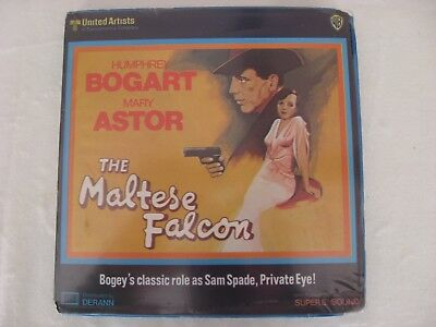 Super 8 The Maltese Falcon Halcon Maltes B/N Sonido 120m