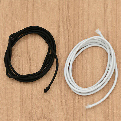 2.5mm Sewing Round Elastic Cord Soft Band DIY Handcrafts Accessories White Black