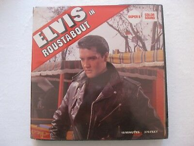 Super 8 Elvis Roustabout Color Sonido 120m