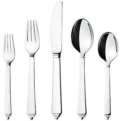 Pyramid by Georg Jensen Stainless Steel Flatware Set For 8 Service 40 Pcs New