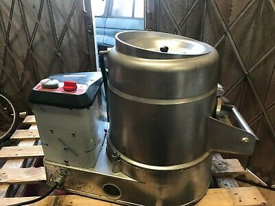 Sammic potato peeler model PP12+ table top unit, only used a few times