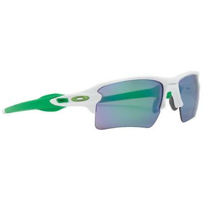 ad0d6874b2 New Oakley Flak Jacket 2.0 XL Sunglasses White Jade Iridium Green OO9188 -6359