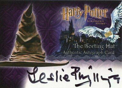 Harry Potter And The Sorcerer's Stone Autograph Leslie Phillips