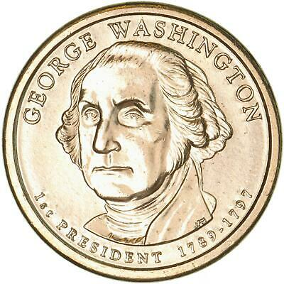 2007 D Presidential Dollar George Washington BU Clad US Coin