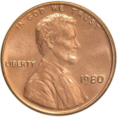 1980 Lincoln Memorial Cent BU Penny US Coin