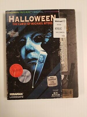 Halloween 6: The Curse of Michael Myers (Blu-ray Disc, 2018) w/slipcover bluray