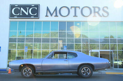 1968 Pontiac GTO  1968 Pontiac GTO in Silver Nicely Restored / Numbers Matching CNC Motors Upland