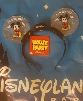 Disneyland Paris Worlds Biggest Party Mickey Mouse Ears 90th Minnie