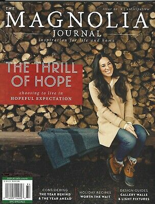 """New Issue~""""Magnolia Journal""""~Issue 9 Winter 2018~Inspiration For Life & Home"""