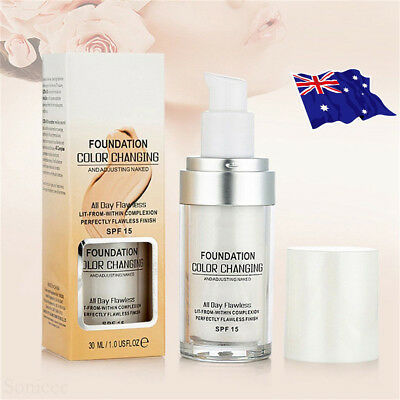 Magic Flawless Color Changing Foundation TLM Makeup Change To Your Skin Tone  QQ