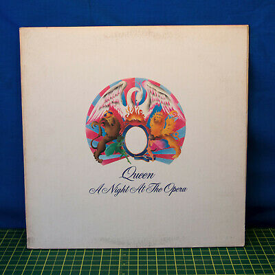 "Queen‎– ""A Night at the Opera""  LP Elektra ‎– 7E-1053 Butterfly Label Pressing"