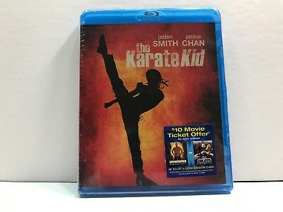 The Karate Kid - Blu-Ray (New & Sealed!) Jackie Chan - Jaden Smith