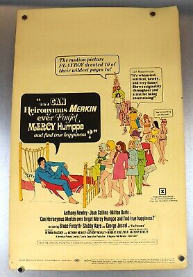 Can Heironymus Merkin Ever Forget Mercy Humppe 1969 Proof Blatt Promo