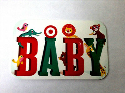 Target Gift Card Baby ---0--- Value Rechargeable