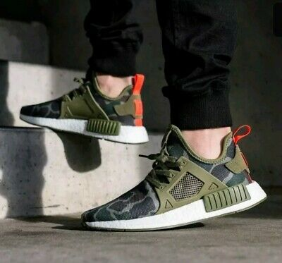 cefe58290c220 Adidas NMD XR1 DS Military Camo Green Olive BA7232 Shoes Trainers size